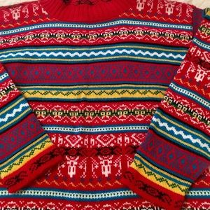Ashleigh Morgan Fair Isle Sweater
